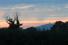 Tor View at Sunset 1