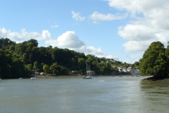 Approaching Dittisham